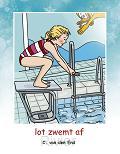 Lot zwemt af